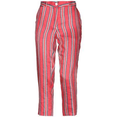 IANUX #THINKCOLORED パンツ レッド 28 麻 88% / ナイロン 12% パンツ