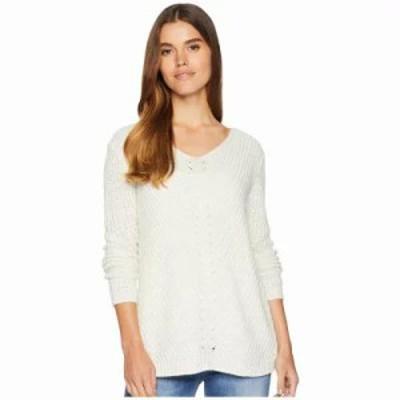 ビービーダコタ ニット・セーター Bedroom Dancing Lace Back Sweater Ivory
