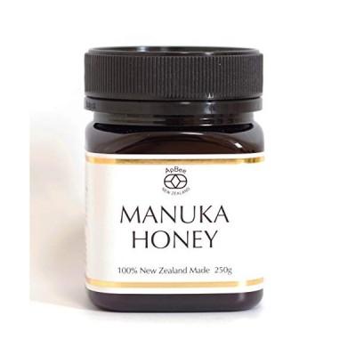 ApBee ハイグレードマヌカハニーニュージーランド政府認定モノフローラルマヌカハニー(250g)