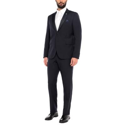マニュエル リッツ MANUEL RITZ スーツ ダークブルー 54 バージンウール 100% スーツ