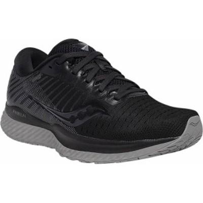 サッカニー レディース スニーカー シューズ Women's Saucony Guide 13 Running Sneaker Blackout Engineered Mesh