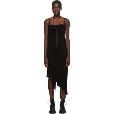 アレキサンダー マックイーン McQ Alexander McQueen レディース ワンピース ワンピース・ドレス Black Drawstring Strap Dress Black