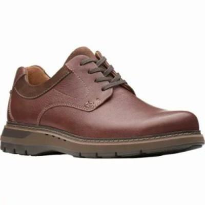 クラークス 革靴・ビジネスシューズ Un Ramble Lo Oxford Mahogany Full Grain Leather