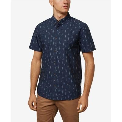 オニール シャツ トップス メンズ Men's Grotto Shirt Navy