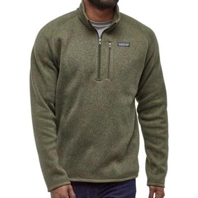 パタゴニア Patagonia メンズ トップス Better Sweater 1/4 Zip Pullover (Regular and Big & Tall) Industrial Green