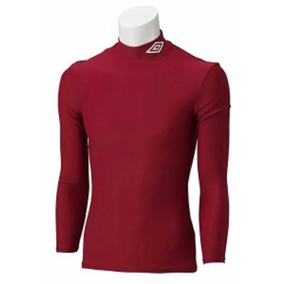 アンブロ サッカー L/Sコンプレッションシャツ 16SS Dレッド ケームシャツ・パンツ(uas9300-dred)