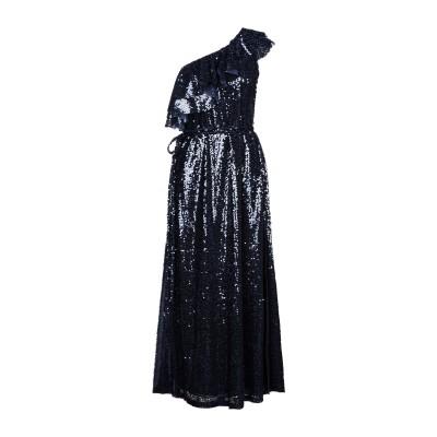 IN THE MOOD FOR LOVE ロングワンピース&ドレス ダークブルー XS ポリエステル 100% ロングワンピース&ドレス