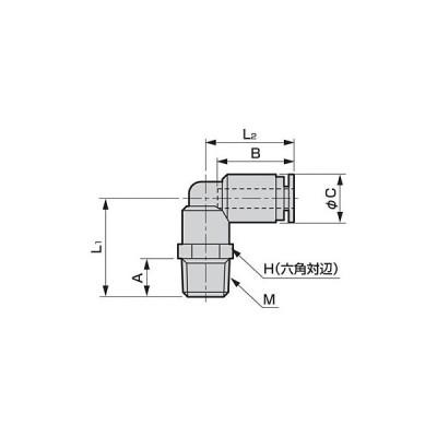 ニュージョイントGW(継手)/(片口エルボ) ばら売り CKD GWL6-8