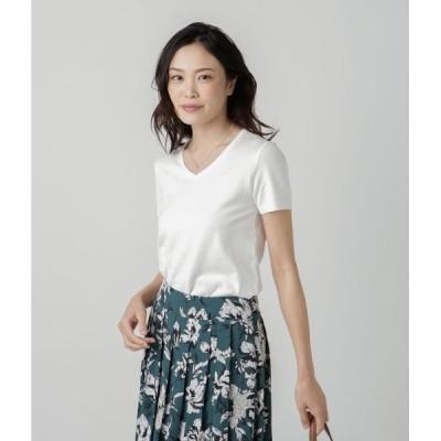 NEWYORKER / NY Basic/ペルーコットン おとなニットTシャツ(スーツインナー対応)