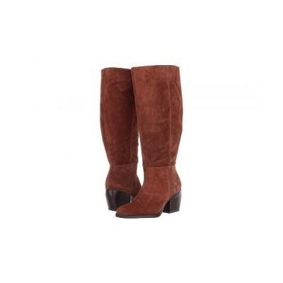 Naturalizer ナチュラライザー レディース 女性用 シューズ 靴 ブーツ ロングブーツ Fae Wide Calf - Saddle Tan Oil Suede