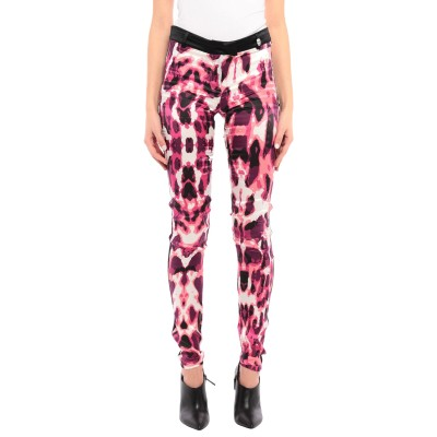PHILIPP PLEIN パンツ ピンク M シルク 95% / ポリウレタン® 5% パンツ
