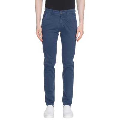 LIU •JO MAN パンツ ダークブルー 44 コットン 97% / ポリウレタン 3% パンツ