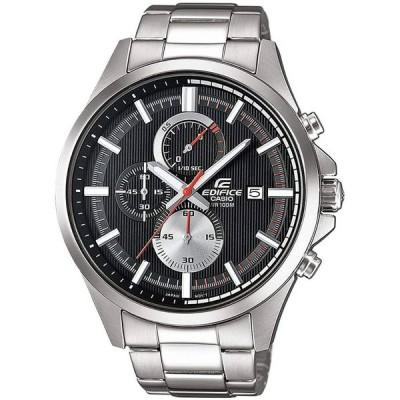 CASIO カシオ EDIFICE エディフィスEFV-520D-1A ブラック×シルバー 腕時計 メンズ 男性 送料無料 即納