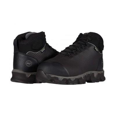 Timberland PRO ティンバーランド メンズ 男性用 シューズ 靴 スニーカー 運動靴 Powertrain Sport Alloy Safety Toe Internal Met Guard - Black