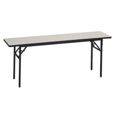 [送料無料]レセプションテーブル シートップレザー 長方形 180×45cm