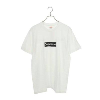 シュプリーム SUPREME 16SS Paris Box Logo Tee サイズ:M パリオープン記念ボックスロゴTシャツ 中古 SB01