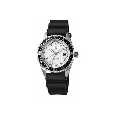 ジュエリー 腕時計 カルッティ CARUCCI メンズ 腕時計 オートマチック 腕時計 スポーツ 腕時計 デイト ホワイト ブラック CA4106WH