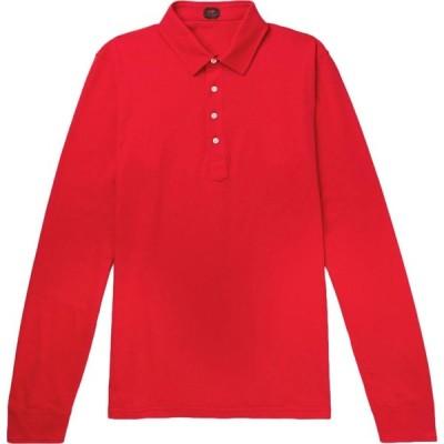 マッシモ ピオンボ MP MASSIMO PIOMBO メンズ ポロシャツ トップス polo shirt Red