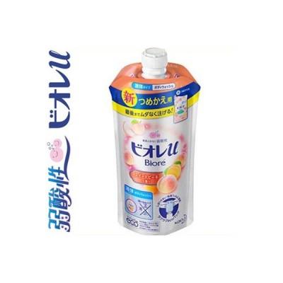 ビオレu ボディウォッシュ スイートピーチの香り 詰替用 340mL / 花王 ビオレu