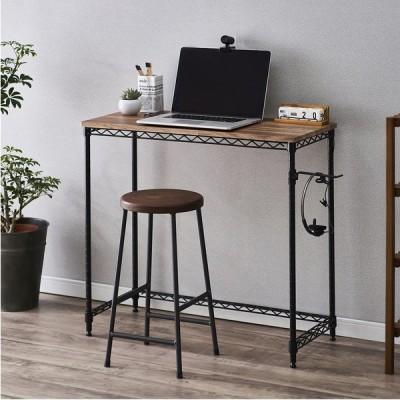 テーブル 机 デスク おしゃれ スチールラック テレワーク 在宅勤務 在宅 ワーク ラック 可愛い かわいい カラーメタル アイリスオーヤマ Y-CMM-D81361