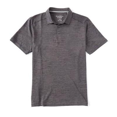 トッミーバハマ メンズ シャツ トップス IslandZone Palm Coast Delray Frond Performance Stretch Short-Sleeve Recycled Materials Polo Shirt