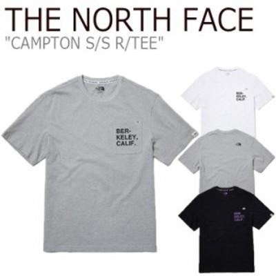 ノースフェイス Tシャツ THE NORTH FACE CAMPTON S/S R/TEE キャンプトン ショートスリーブ ラウンドTEE 全3色 NT7UL19J/K/L ウェア