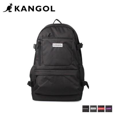 カンゴール KANGOL リュック バッグ バックパック メンズ レディース 24L BURST D BAG ブラック ホワイト レッド パープル 黒 白 250-1500