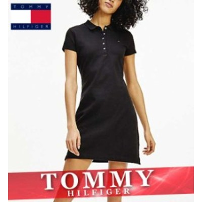 トミーヒルフィガー ワンピース ドレス レディース フラッグ ロゴ XS~XL 新作 TOMMY