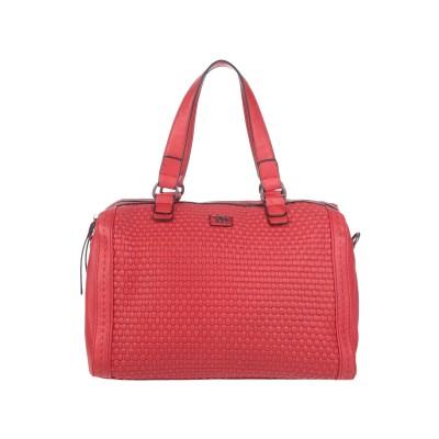 XTI ハンドバッグ レッド 紡績繊維 ハンドバッグ