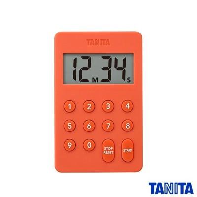タニタ TD415OR デジタルタイマー オレンジ