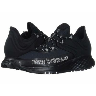ニューバランス スニーカー シューズ レディース Fresh Foam Roav Trail Black/White Textile