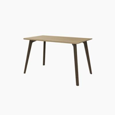 送料無料 ダイニングテーブル (W1200 天板:ピーチ 脚:ウォールナット) - CROSS