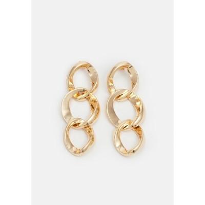 ピーシーズ ピアス&イヤリング レディース アクセサリー PCJUTA EARRINGS - Earrings - gold-coloured