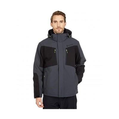 Free Country フリーカントリー メンズ 男性用 ファッション アウター ジャケット コート フリース ソフトシェル Softshell Systems Jacket - Deep Charcoal