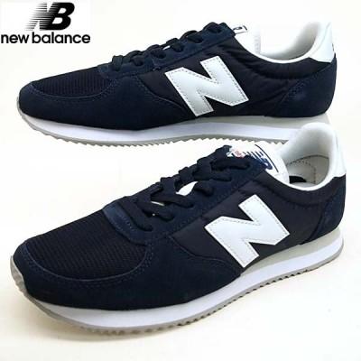 ニューバランス New Balance U220 NV ランニングシューズ スニーカー 紺 0220 レディース/メンズ
