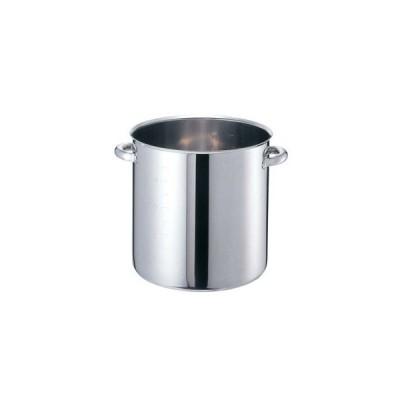 EBM モリブデンジII 寸胴鍋(目盛付)21cm 蓋無【 IH・ガス兼用鍋 】