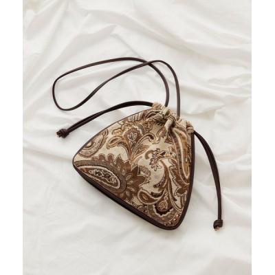 COLONY 2139 / ジャガード巾着バッグ WOMEN バッグ > ショルダーバッグ