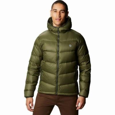 (取寄)マウンテンハードウェア メンズ マウント イヤック ダウン フーデッド ジャケット Mountain Hardwear Men's Mt. Eyak Down Hooded Jacket Dark  送料無料