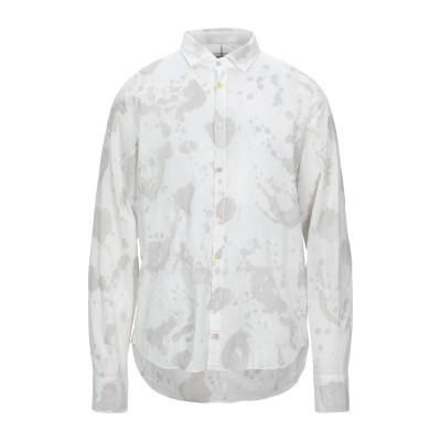 PANAMA シャツ ライトグレー L コットン 100% シャツ