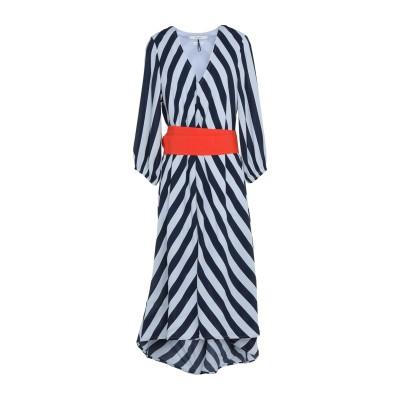 GESTUZ ロングワンピース&ドレス スカイブルー 34 レーヨン 100% ロングワンピース&ドレス