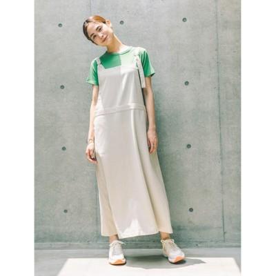 (koe/コエ)綿麻ジャンパースカート/レディース ベージュ