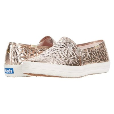 Keds x kate spade new york Double Decker Quilted レディース スニーカー Champagne Quilted Nylon
