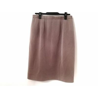 ミズレイコ MS.REIKO スカート サイズ13 L レディース 美品 ベージュ【中古】20190922
