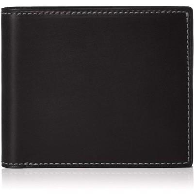 デュエンデ 二つ折り財布 ブライドル レザー 革 704-BLA ブラック