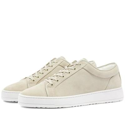 ETQ ETQ. Amsterdam メンズ スニーカー ローカット シューズ・靴 etq. suede low top 1 sneaker White Sand
