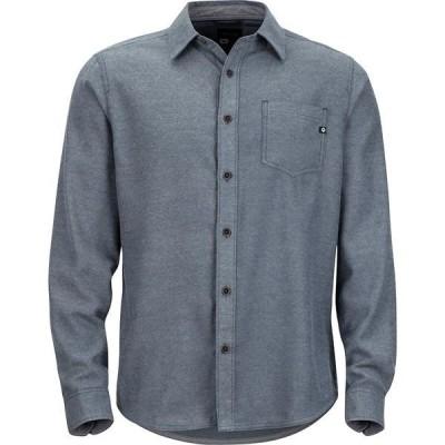 マーモット メンズ シャツ トップス Hobson Midweight Flannel Long-Sleeve Shirt