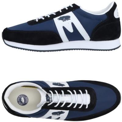 カルフ KARHU スニーカー&テニスシューズ(ローカット) ブルー 5 紡績繊維 / 革 スニーカー&テニスシューズ(ローカット)