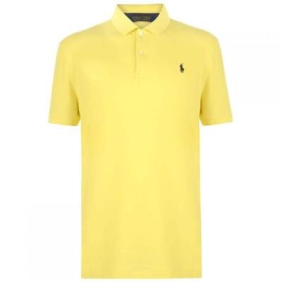 ラルフ ローレン Polo Ralph Lauren メンズ ポロシャツ トップス Polo Mesh Polo Shirt Beekman Yellow