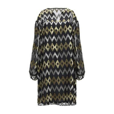 TRAFFIC PEOPLE ミニワンピース&ドレス ブラック XS ポリエステル 100% ミニワンピース&ドレス