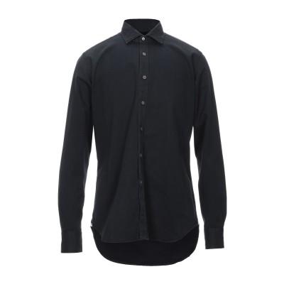 バグッタ BAGUTTA シャツ ブラック 41 コットン 100% シャツ